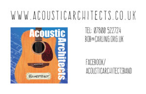 Acoustic Architects Business Card BLUEPRINT 220616